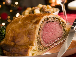 Carved Beef Wellington