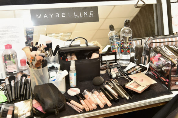 NEW YORK, NY - FEBRUARY 14:  A view of MAYBELLINE at Naeem Khan show during New York Fashion Week: The Shows on February 14, 2017 in New York City.  (Photo by Mike Coppola/Getty Images for New York Fashion Week: The Shows)